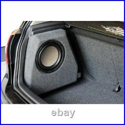10'' / 25cm Bass Case Custom Fit Subwoofer Box enclosure for VW Golf 5 6