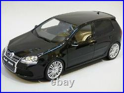 118 Otto Volkswagen VW Golf R32 Mk5 Black Toy Model Collectible Car New Boxed