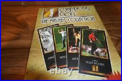 1997 Champions Of Golf The Masters Collection Sealed Box Tiger Woods Rookie Card