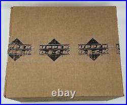 2001 Upper Deck Factory SEALED Golf Hobby Box CASE Tiger Woods Rookie Year PGA