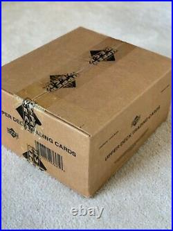 2001 Upper Deck Golf Factory Sealed Case, 12 Sealed Boxes, Tiger Woods Auto PSA 10