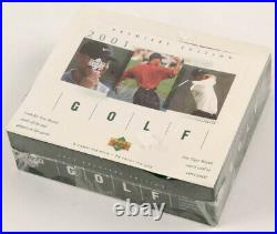 2001 Upper Deck Golf Factory Sealed RETAIL BOX POSSIBLE Tiger Woods Rookie, Etc