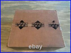 2001 Upper Deck Golf Hobby 12 Box Case Factory Sealed Tiger Woods Rookie PSA 10