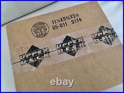 2001 Upper Deck Golf Hobby Case FACTORY SEALED! (12)BOX CASE Tiger Woods PSA 10
