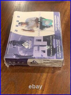 2002 Upper Deck Sp Game Used Golf Factory Sealed Box Ultra Raretiger Woods