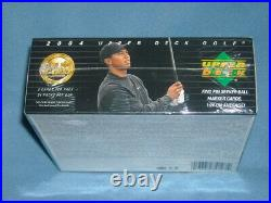 2004 Upper Deck Factory Sealed Retail Golf Box-tiger Woods-hard To Find