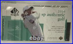2005 Upper Deck SP Authentic Factory Sealed Golf Hobby Box