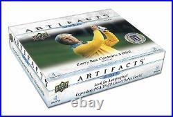 2020/21 Upper Deck Artifacts Golf Hobby Box 5/12/21
