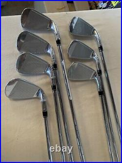 2020 TaylorMade SIM MAX OS Irons 4-PW, Regular Flex, LH New In Box Fast shipping