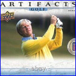 2021 Upper Deck Artifacts Golf (1) Pack From Hobby Box Pre Sale 5/12 Release