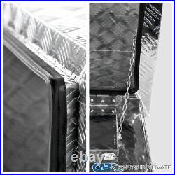 24x 17 Truck Bed Pickup Underbody Aluminum Tool Box Trailer Storage with Lock