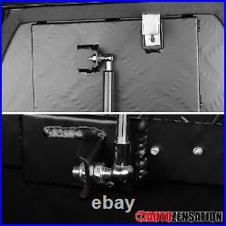 29 Heavy Duty Black Aluminum Tool Box Truck Storage Trailer Tongue with Lock