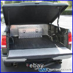 36x 18 Truck Pickup Underbody Aluminum Tool Box Trailer Storage Bed with Lock