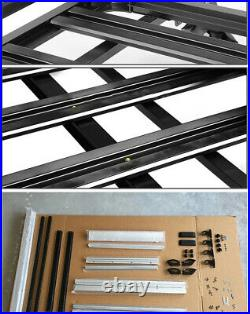 50x38 Car SUV Roof Top Rack Cargo Luggage Bag Box Carrier Basket Fit Cross Bar