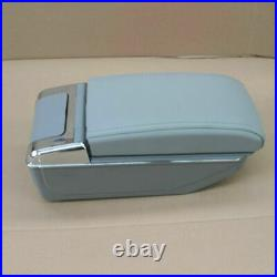 7USB Rechargeable Car Central Container Armrest Storage Box with Light Universal