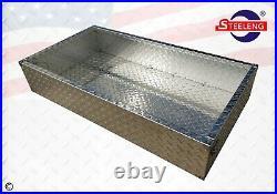 All Aluminum Diamond Plate Utility Cargo Box for YAMAHA Golf Cart G29 (DRIVE)
