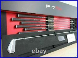 BRAND NEW IN BOX TaylorMade (Tiger Woods) P7TW Iron Set 4-PW STEEL STIFF / RH