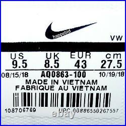 BRAND NEW Nike Air Max 1 Golf White Red AQ0863-100 Men 9.5 NO BOX Fast Shipping