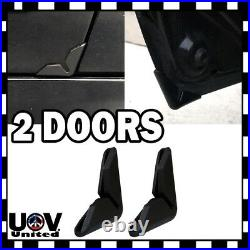 Black Universal Auto Car Side Door Edge Corner Paint Scratch Guard Protector U1