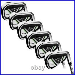 Callaway Edge 10-Piece Golf Clubs Set Right Handed Regular NEW IN BOX
