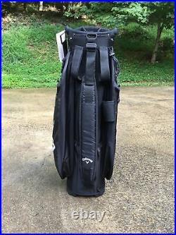 Callaway Org 14 Golf Cart Bag W. 14 Way Black Brand New In Box