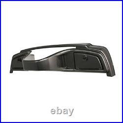 Carbon Fiber Dash Cover Assembly Yamaha Drive G29 Golf Cart with Locking Glove Box