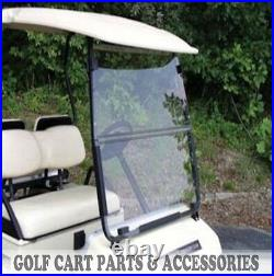 Club Car DS Clear Windshield'00.5 -UP New In Box Golf Cart Folding Acrylic