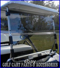Club Car DS Clear Windshield'82-'01.5 New In Box Golf Cart Folding Acrylic