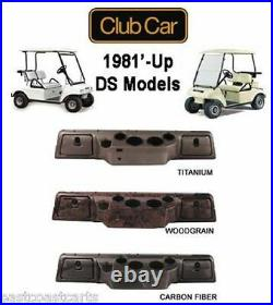 Club Car DS Golf Cart Dash Cover withLocking Glove Boxes