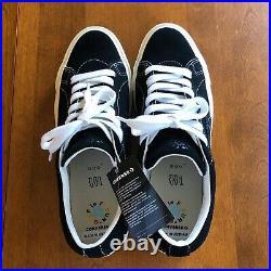 Converse x Golf Le Fleur Black Mono Tyler the Creator Size 10 New with Box RARE