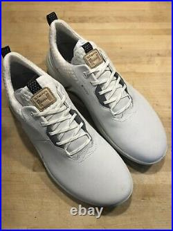 ECCO Biom H4 Spikeless Men's Golf Shoes Size 43 White US 9-9.5 New In Box