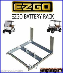 EZGO Golf Cart ALUMINUM BATTERY RACK TRAY BOX