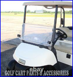 EZGO RXV Clear Windshield 2008-UP Folding Style New In Box Golf Cart Part