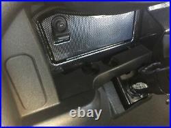 EZGO RXV Golf Cart 2008-2015 Carbon Fiber Dash Cover with Locking Glove Boxes