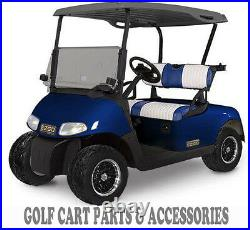 EZGO RXV Tinted Windshield 2008-UP Folding Style New In Box Golf Cart Part