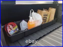 Fits Chevy Silverado 2019-21 Truck Bed Organizer Storage Cargo Container Black