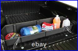 Fits Toyota Tacoma 2016-2021 Truck Bed Organizer Storage Cargo Container Black