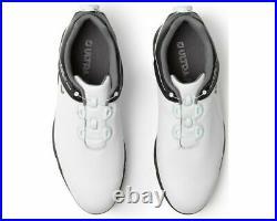 Footjoy Ultra Fit Boa Mens Golf Shoes Wht/blk Size 8 Medium 54177. New In Box