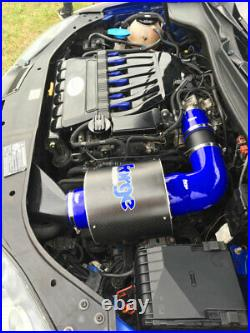 Forge Carbon Airbox VW Golf 5 R32 3,2l 250PS Schwarz Blitzversand