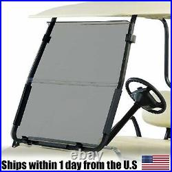 Golf Cart Folding Acrylic For Club Car DS Tinted Windshield'00.5 -UP New In Box