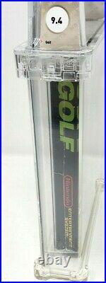 Golf Nintendo NES New Sealed MINT VGA WATA Oval Mario Super Test Black Box