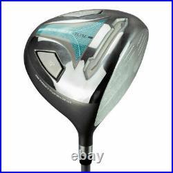 Lynx Ladies Powertune Boxed Golf Set 1,3 Wood, 4,5 Hybrid, 6-Sw, Putter & Bag R/H