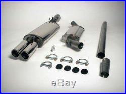 MK2 GOLF Jetex, Stainless exhaust system, 2 box, Mk2 Golf 16V/G60, Twin