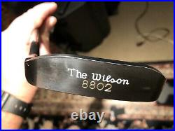 Michael Jordan The Wilson 8802 Putter 35 With HC Limited Edition 1329/2300 + BOX