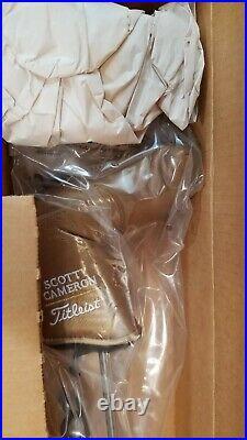 NEW IN BOX 2007 RH TITLEIST SCOTTY CAMERON TERYLLIUM TEN NEWPORT 2 PUTTER WithCVR