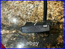 NEW PXG GEN 2 OPERATOR 35 R/H PUTTER BLACK SHAFT WithHEAD COVER, TOOL, & PXG BOX