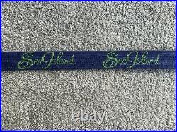 NEW Sea Island Golf Club Belt Size 38 Smathers & Branson Needlepoint With Box