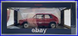 NOREV 188472 VW GOLF Mk. 1 GTI diecast model road car red body 1976 118th scale