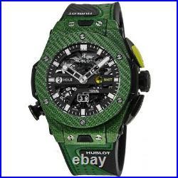 New Hublot Big Bang Unico Golf Green Carbon Men's Watch 416. YG. 5220. VR
