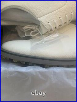 New In Box G Fore Golf Shoes 13 Snow (white) And Charcoal